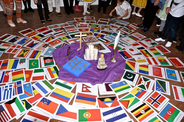 UN World Peace Day around the World