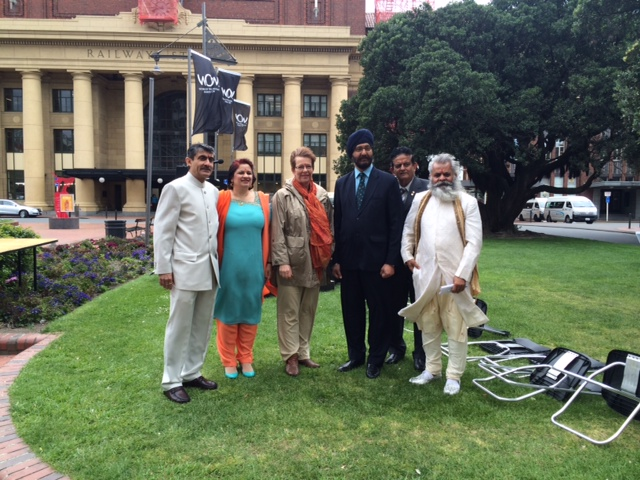 Gandhi Birthday celebrations in Wellington New Zealand