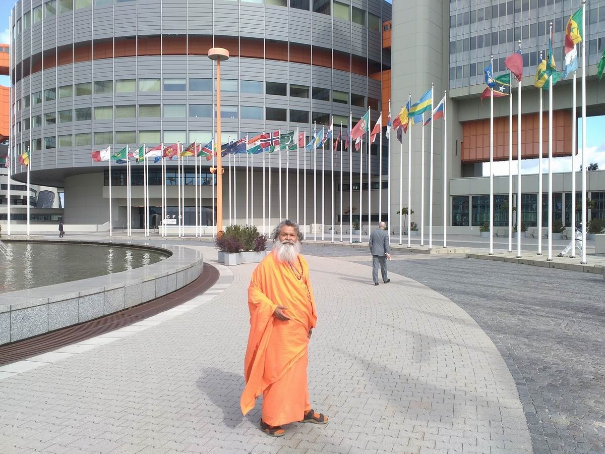 Vishwaguruji at UN