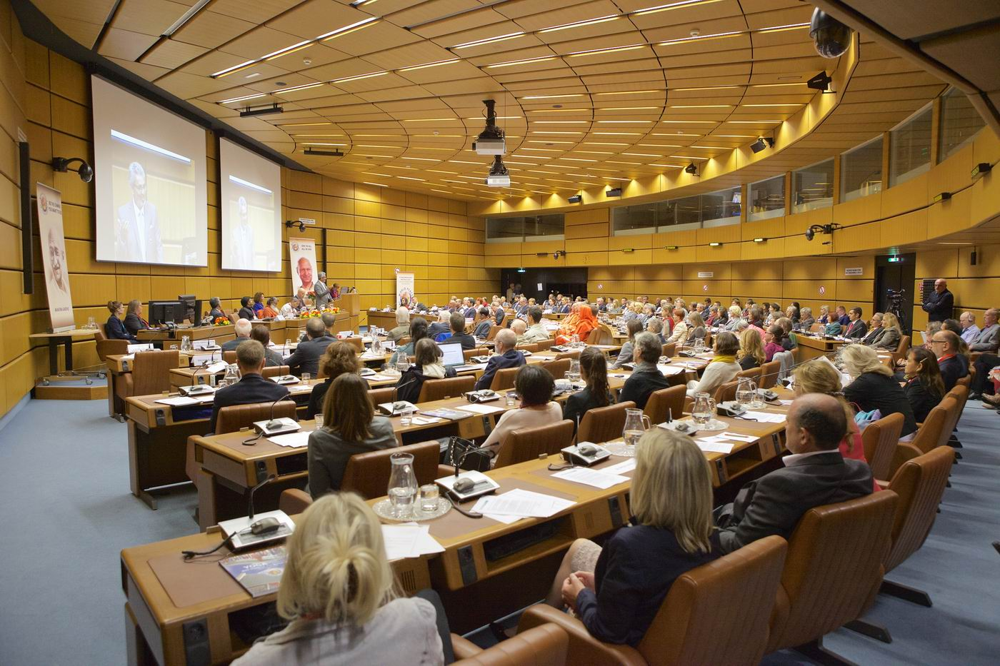 Yoga - a Path to Non Violence and World Peace Conference in Vienna 2015