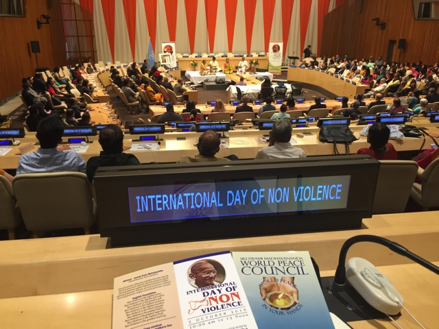 International Day of Non Violence 2016 NewYork 1