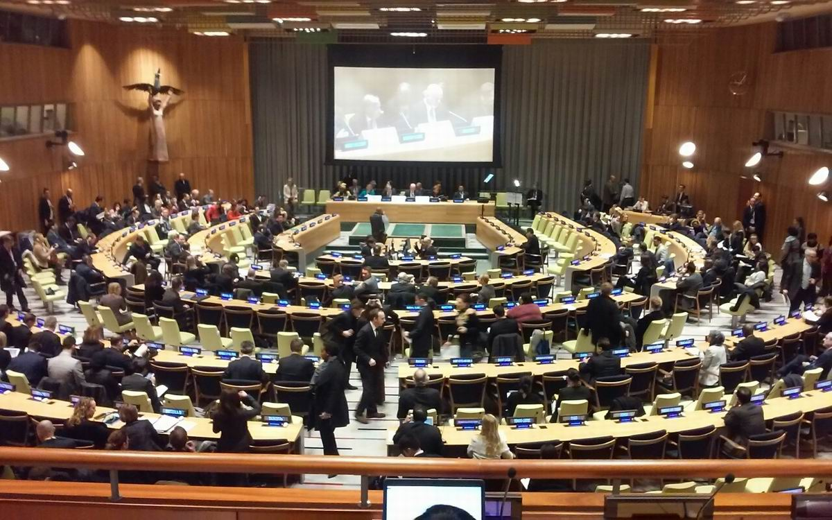 High-level Dialogue organized at the UN Headquarters