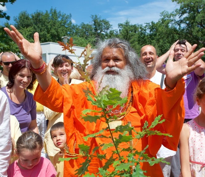 Peace Tree planting Debrecen, Hungary, June 10, 2017